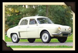 Achterlichten Renault Dauphine